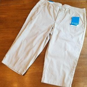 Columbia modern classic Kensie Cove khaki shorts